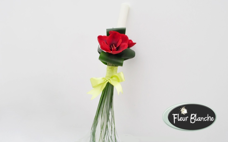 Mon Amour- o superba lumanare de nunta care impresioneaza prin simplitate si eleganta http://www.florariafleurblanche.ro/produs/lumanare-de-nunta-mon-amour