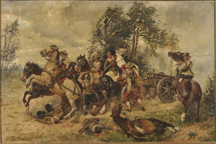 Protecting the gun during the Thirty Years War