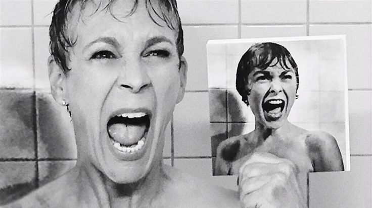 Jamie Lee Curtis channels mom Janet Leigh in recreation of 'Psycho' shower scene - TODAY.com