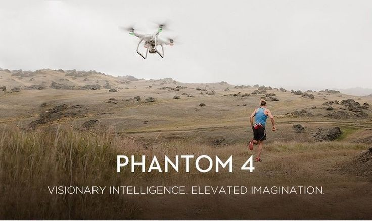 There is no mistaking the Phantom 4 for anything other than a DJI drone.