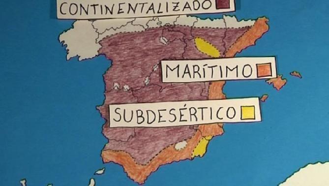 El clima mediterráneo tiene una gran amplitud térmica. En invierno, en ciertas zonas, son frecuentes las heladas.