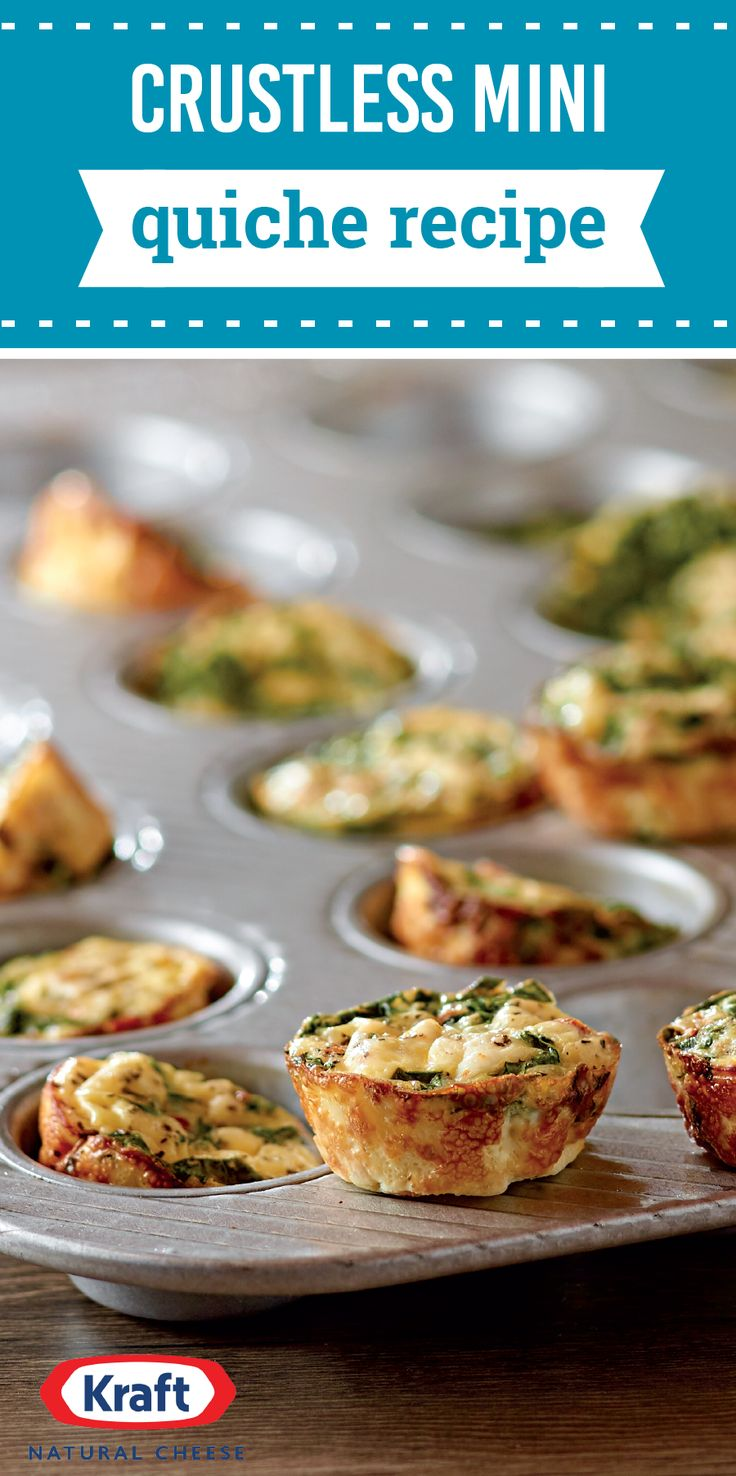Crustless Mini Quiche Recipe – Trust us, no one will miss the crust when they taste this crustless quiche creation at your brunch table. With bacon and tomatoes, these savory bites pack enormous flavor for taking only 22 minutes to prepare for your breakfast spread!