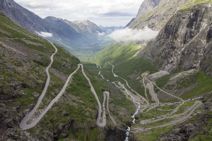 Two weeks in Norway: Trollstigen called The Troll's Road, is a 106 km long mountain road, protected Unesco Site. Simply amazing.  travel | hike | photography