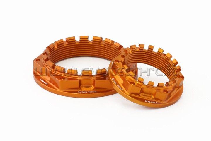 #KTM #R1290 Superduke: dado portacorona e dado ruota posteriore. #Orange ktm  http://www.evotech-rc.it/prodotto/13688/kit-dado-ruota-posteriore-e-dado-porta-corona-ktm-r-superduke-1290#ad-image-1
