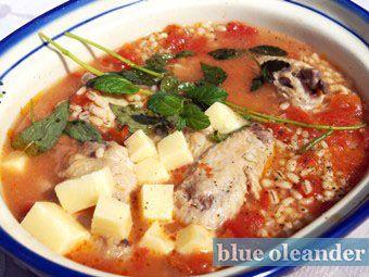Maltese barley soup