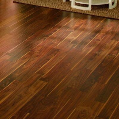 Hampton bay deep espresso walnut 8 mm thick x 4 7 8 in for Hom flooring