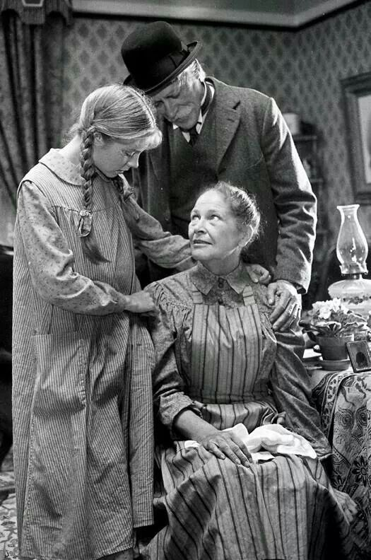 Anne, Marilla & Mathew - Anne Of Green Gables. The best book ever written according to me :)