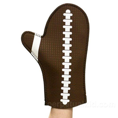 Manopla-guante de fútbol americano