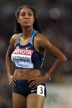 Queen Harrison black fitness