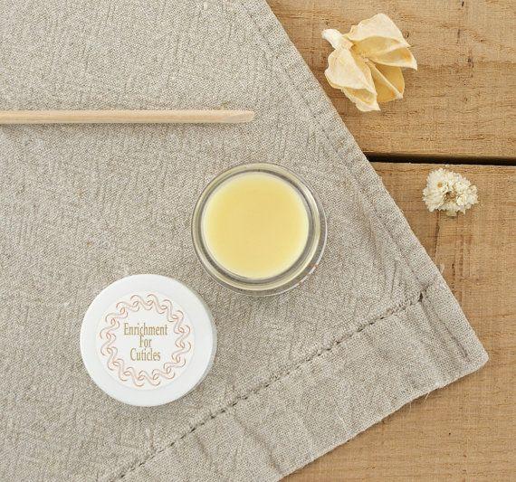 All Natural Cuticle Cream, Cuticle Balm, All Natural Skin Care, Cream for Cuticles, Hand Care - Enrichment for Cuticles