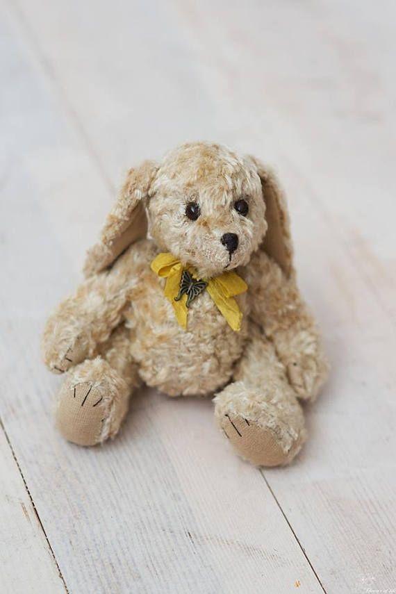 OOAK Vintage Bunny OOAK Teddy friends Bunny toy