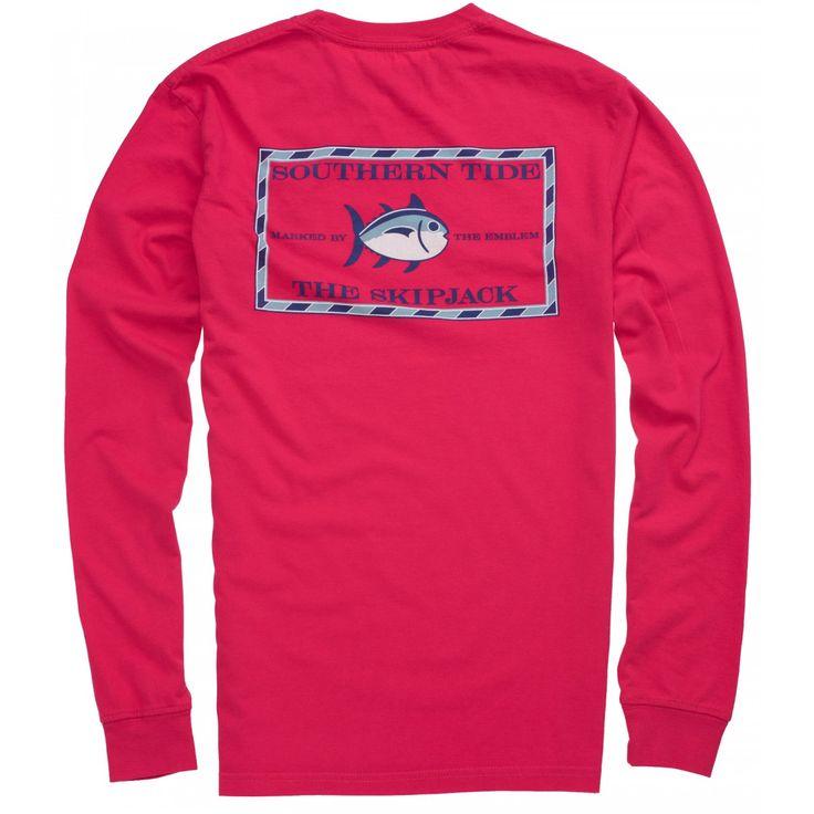 Original Skipjack Long Sleeve T-shirt | Southern Tide | Portside
