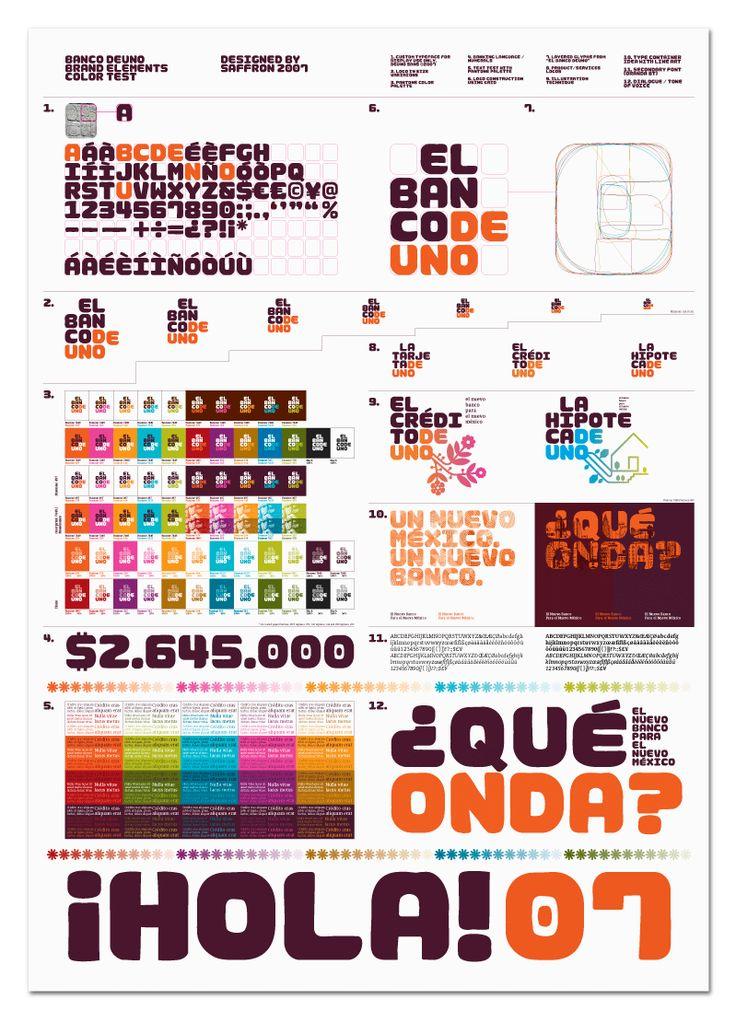 Cool Color Code Book 70 El Banco Deuno Color