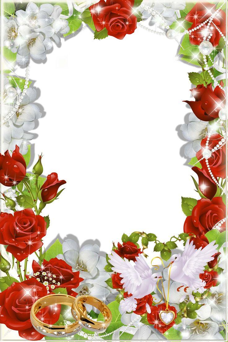 free wedding backgrounds /frames wedding png frame