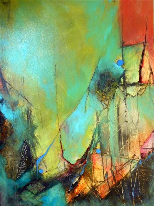 Just Below the Surface I by Wan Marsh   http://www.ugallery.com/acrylic-painting-just-below-the-surface-i