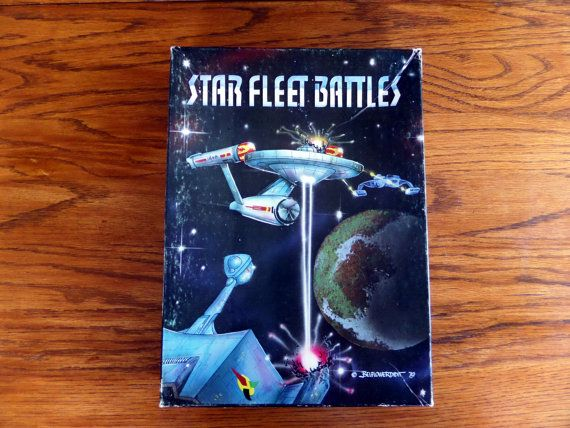 Star Fleet Battles Vintage Board Game  Star by AmalgamationCapital