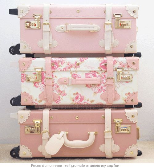 Pink Luggage..                                                                                                                                                      More