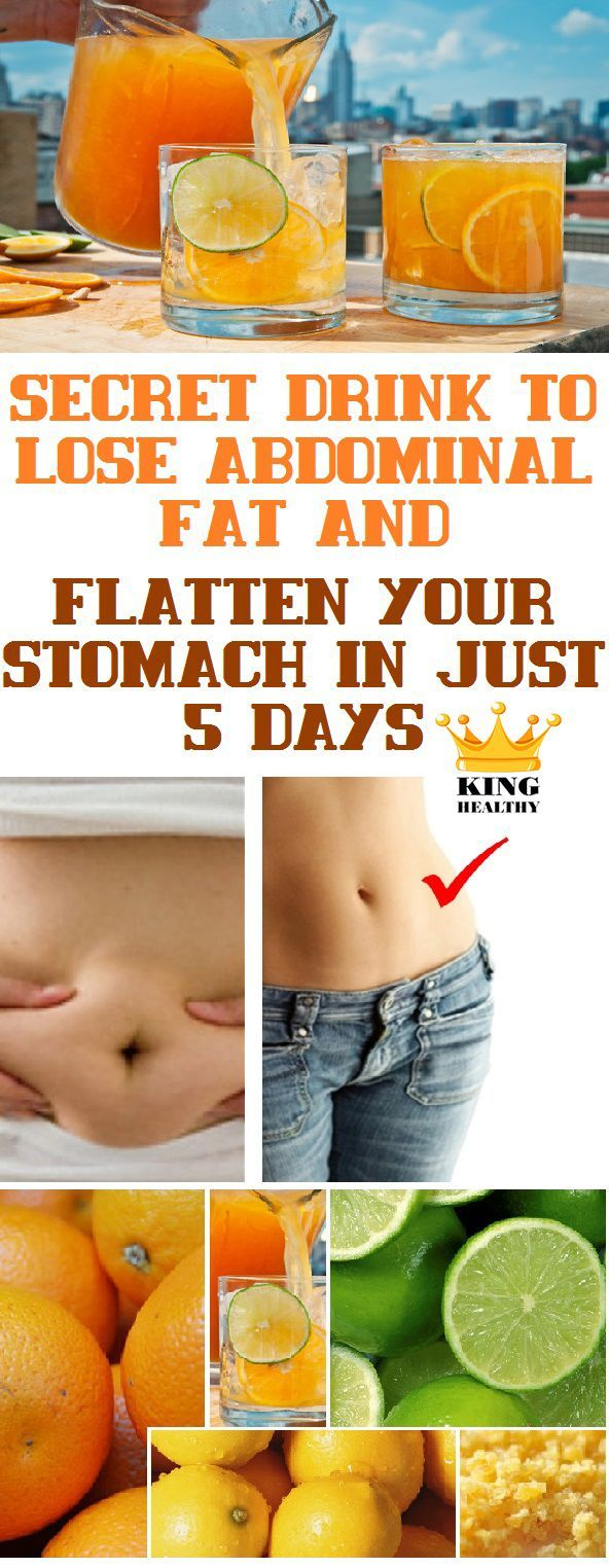 28 best weight loss images on pinterest health diets and drink secret drink to lose abdominal fat and flatten your stomach in just 5 days king healthy life ccuart Choice Image