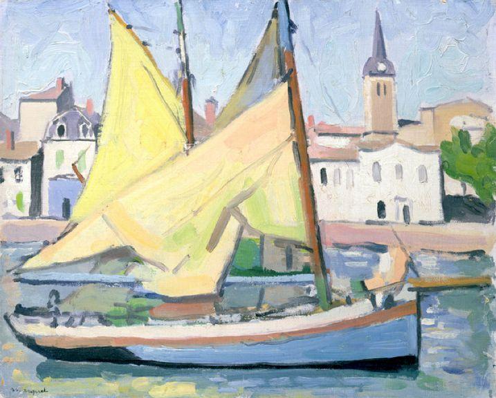 La Chaume, 1921 (oil on canvas), Marquet, Albert (1875-1947) / Private Collection