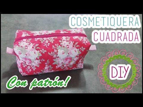 Bolso de tela fácil | Con bolsillos y cremalleras | DIY - YouTube