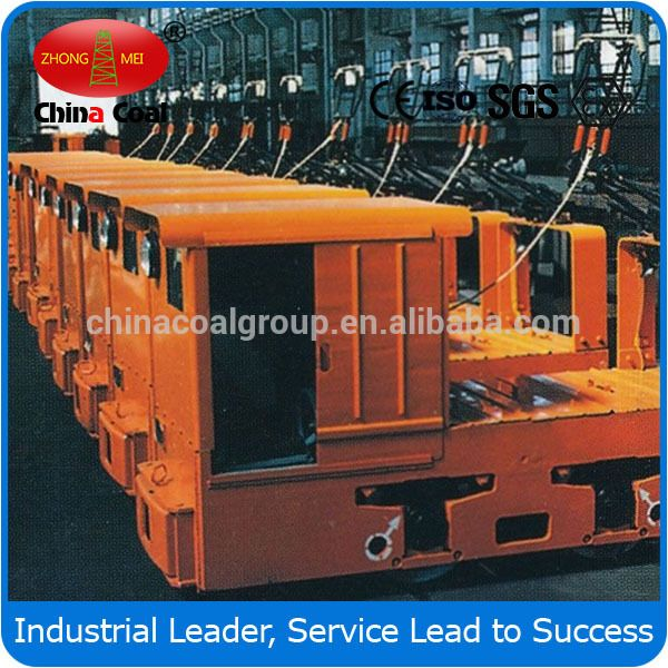 China Coal Group 8T Mining Locomotives Rolling Stock (Double Cabs)