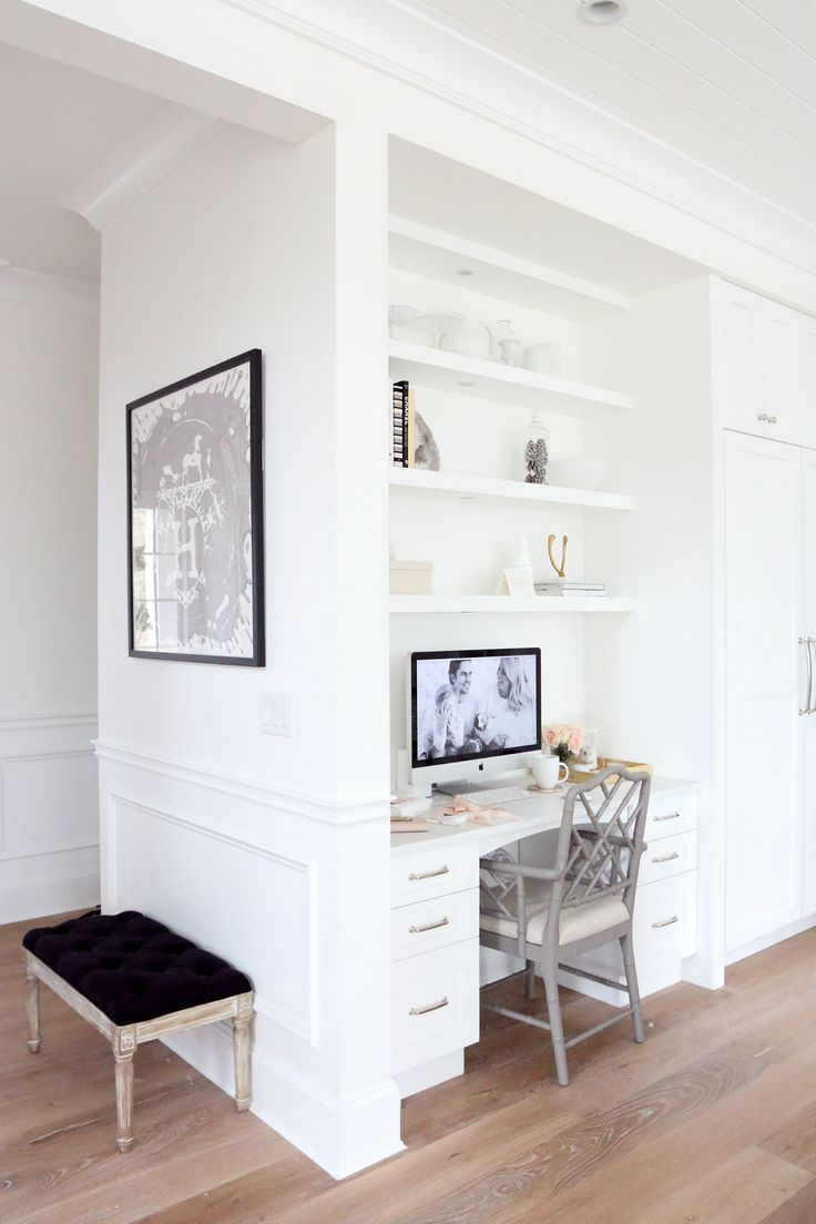 Kitchen Desk Monika Hibbs Home http://monikahibbs.com