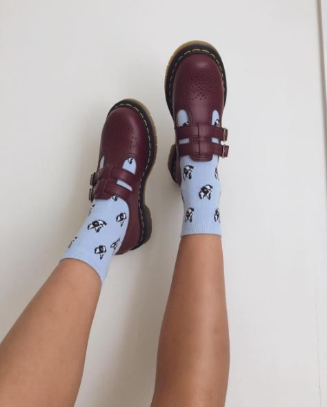 DOC'S & SOCKS: The 8065 mary jane shoe, shared by shanhimazema.