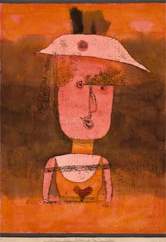 """Résultat de recherche d'images pour """"klee portrait of miss p in th"""""""