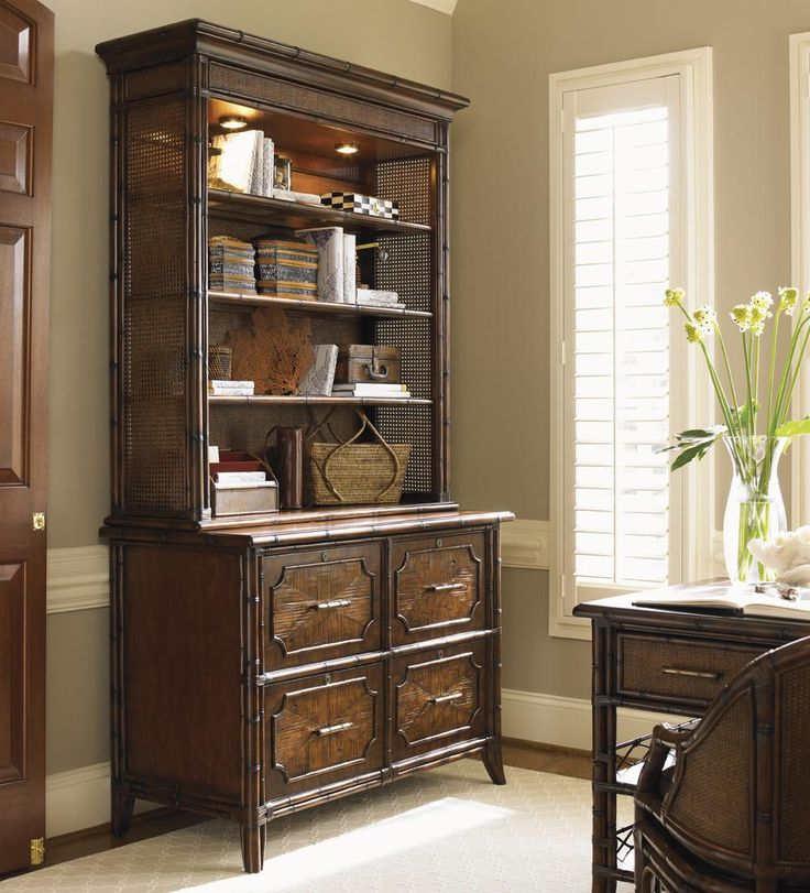 Bal Harbour Laguna Beach File Chest and Deck with 4 File Drawers by Sligh at Baer's Furniture