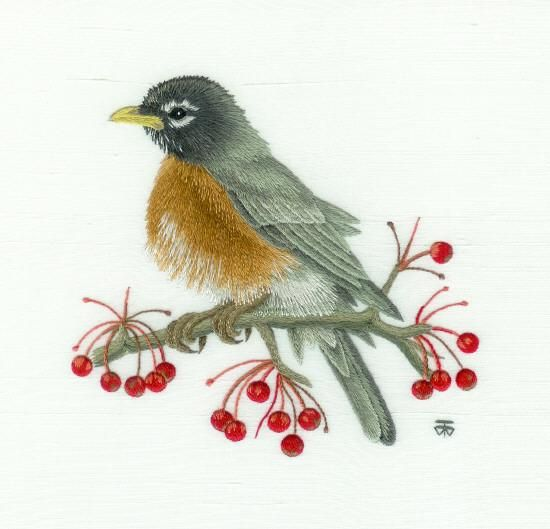 Top ideas about embroidery needle painting on