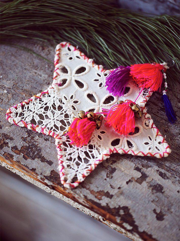Free People Big Star Ornament