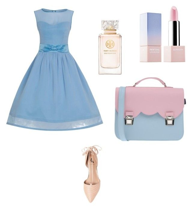 """h.k"" by hanika15 on Polyvore featuring beauty, Ava & Aiden, La Cartella, Sephora Collection and Tory Burch"