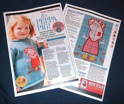 peppa pig jumper knitting pattern free download - Google Search