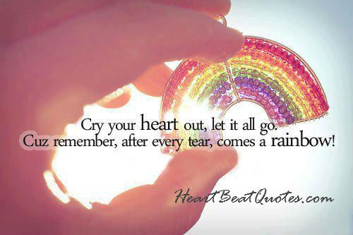 HeartBeat Quotes · let go