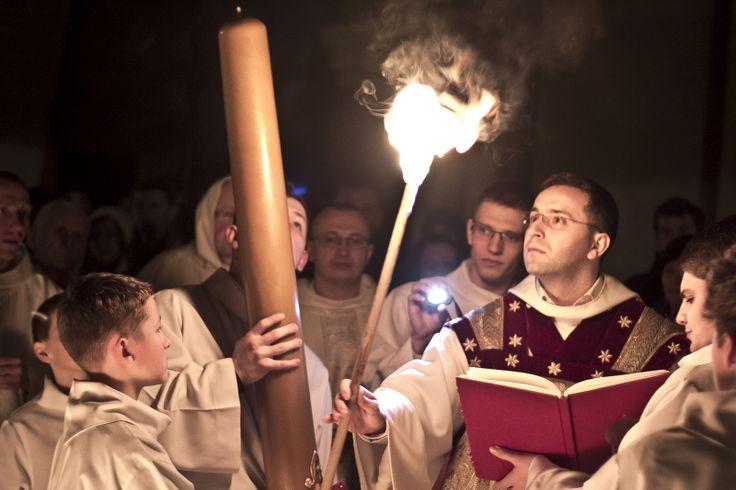 #dominikanie #wielkasobota #paschał #ogień #światło #świeca #paschał #wigiliapaschalna #pascha
