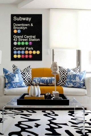 Express Yourself With Wordy Art: New York City Canvas Print