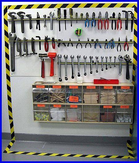 Tool organization: justin u should do this!