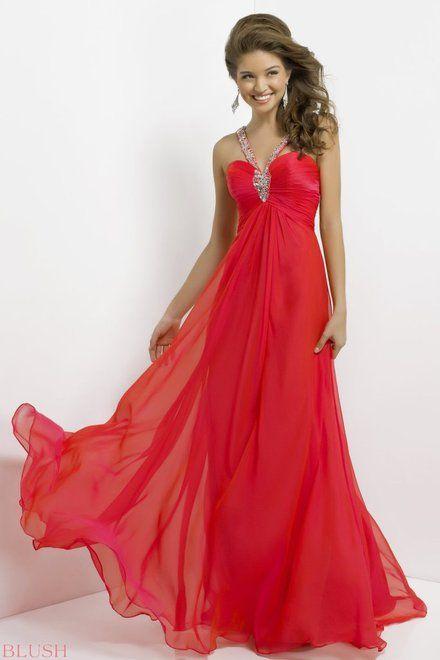 """Kirmizi yuksek bel uzun etekleri ucusan elbise (from <a href=""""http://www.abiyeelbisemodelleri.com/picture.php?/533/see_my_photos"""">Abiye Elbise Modelleri</a>)"""