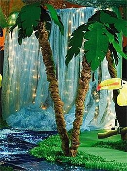 Good for Rainforest, tropical, waterfall, Jungle theme