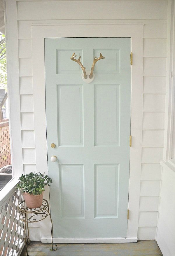 25 best ideas about mint door on pinterest home exterior colors painting accent walls and - Exterior paint in bathroom set ...