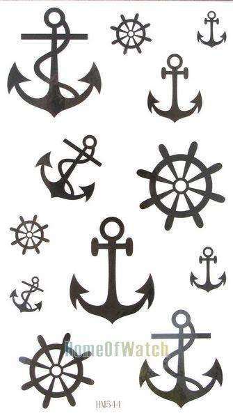Más de 1000 ideas sobre Tatuajes De Anclas en Pinterest