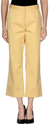 MIU MIU Casual pants - Shop for women's Pants - Yellow Pants