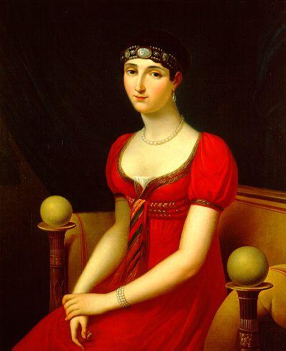 24-10-11  Pauline Bonaparte by François Joseph Kinson, 1808, Museo Napoleonico