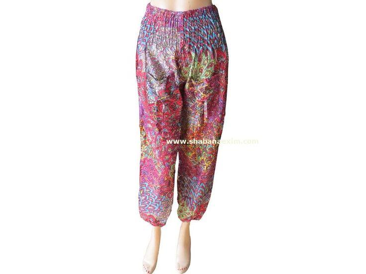 Haram rayon printed pants