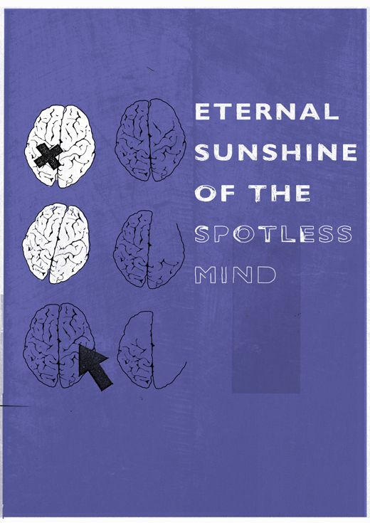 Eternal Sunshine of the Spotless Mind Poster.  If you like it, come VOTE IT UP to the front page at PosterVine.com Today!!!
