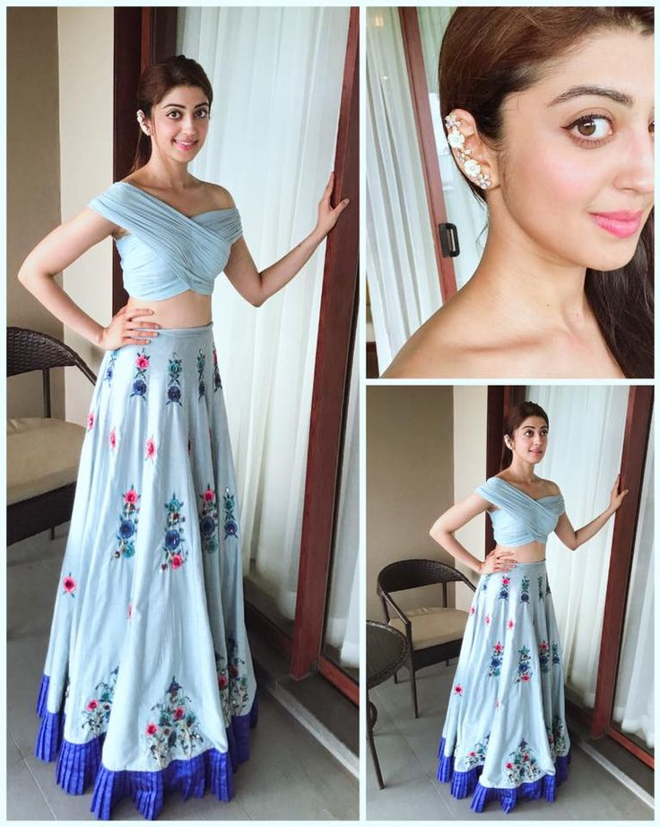 Pranitha Subash so lovely wearing this fresh bold yet subtle outfit and super cute jewellery for her friends mehendi in srilanka . 08 March 2018