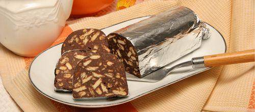 Salame de chocolate, sabe sempre bem :)