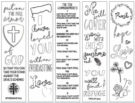 Free Bookmarks Animal Coloring Pages Bible bookmark, Bible