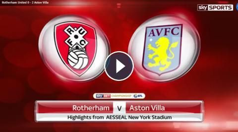 Rotherham United 0-2 Aston Villa Full Time Highlights and Goals - Sky Bet Championship - 4 March 2017. Watch extended video highlights of EFL Champion...