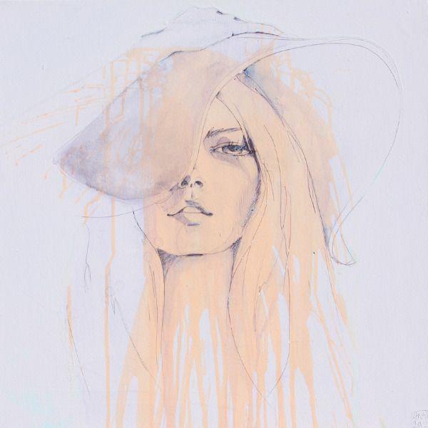 ILLUSTRATED GIRLS - ANYA BROCK